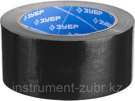 Армированная лента, ЗУБР Профессионал 12096-50-25, универсальная, влагостойкая, 48мм х 25м, черная, фото 2
