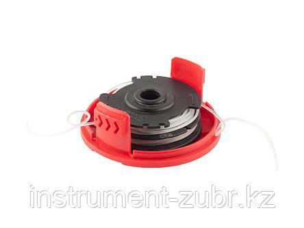 """Катушка для триммера, ЗУБР 70117-1.6, с леской """"круг"""", автомат, для ЗТЭ-550, диаметр лески 1.6 мм, в сборе, фото 2"""