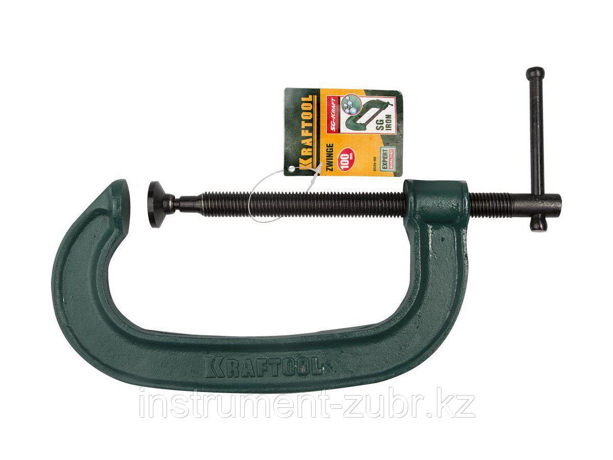 Струбцина тип G 100 мм EXTREM EG-10, KRAFTOOL