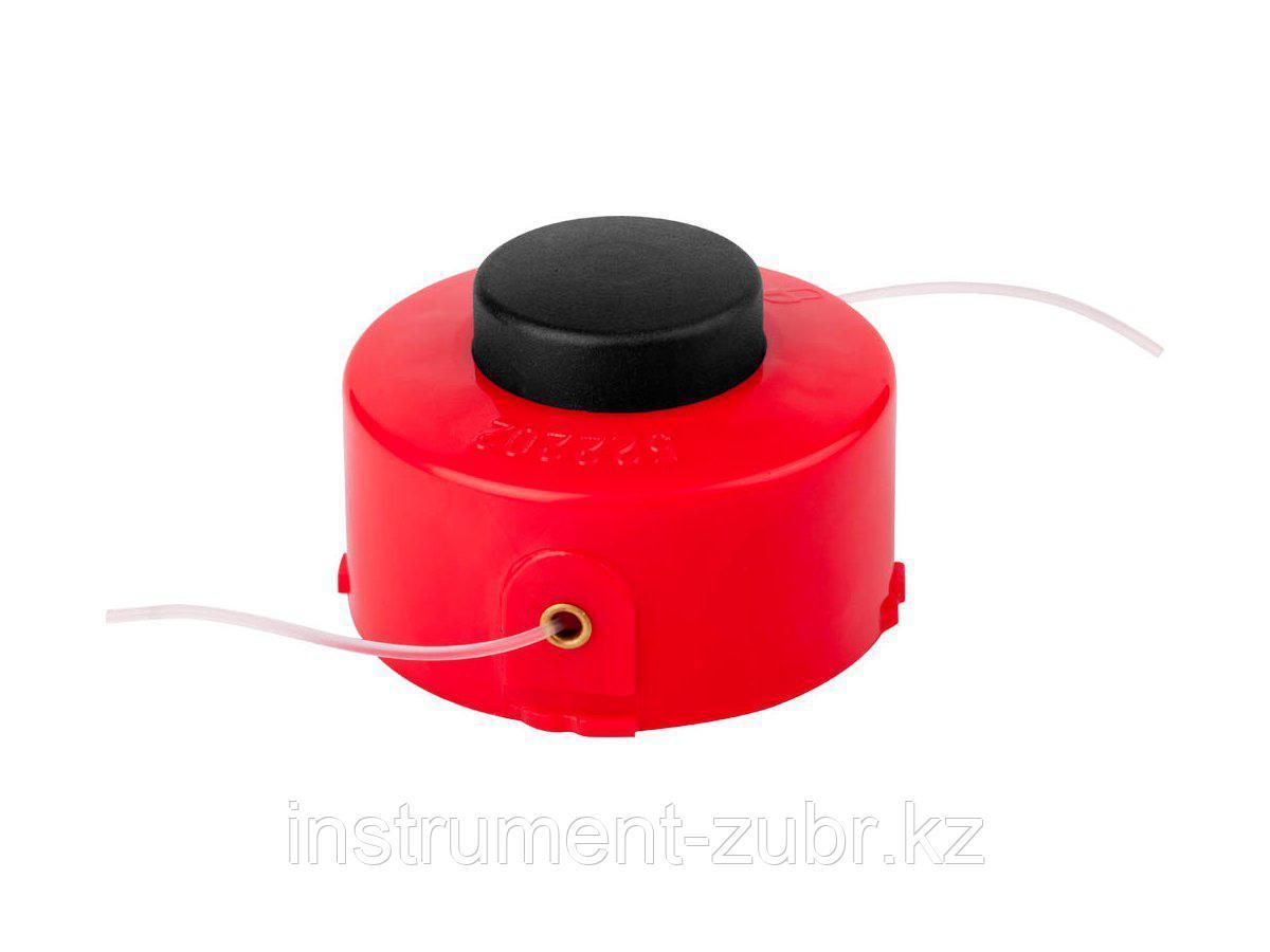 """Катушка для триммера, ЗУБР 70116-1.6, с леской """"круг"""", полуавтомат, для ЗТЭ-450, макс. диаметр лески 1.6 мм, в сборе"""