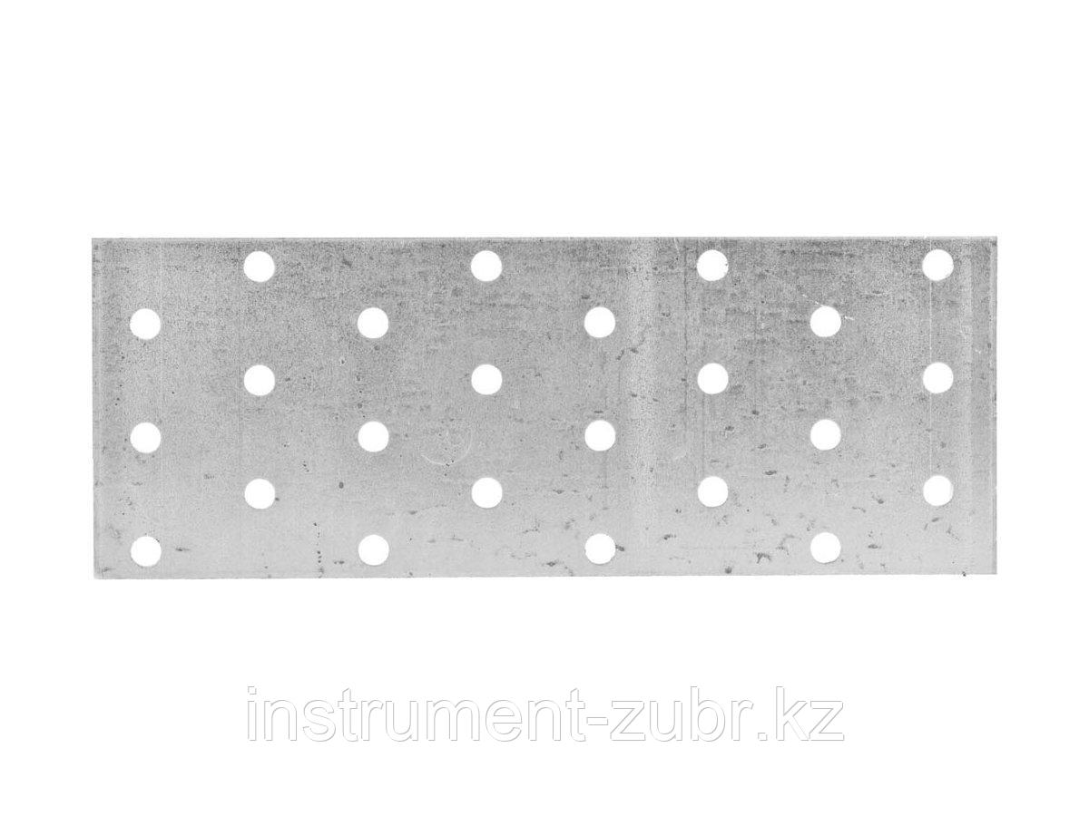 Пластина соединительная, 60х160мм, 20шт, ЗУБР Мастер 310255-060-160
