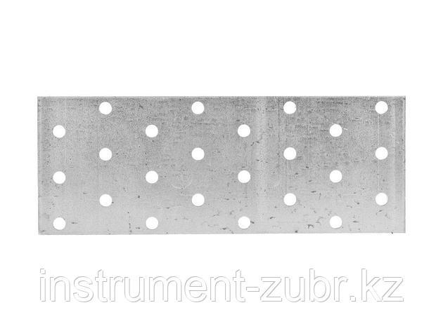 Пластина соединительная, 60х160мм, 20шт, ЗУБР Мастер 310255-060-160, фото 2