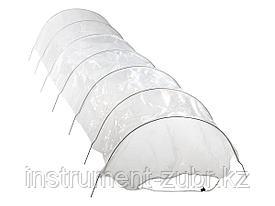 Парник GRINDA, в комплекте стальные оцинк. дуги и плёнка 120 микрон, 300х65х45 см