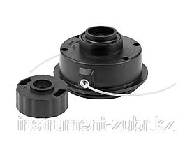 "Катушка для триммера, ЗУБР 70111-1.5, полуавтомат, макс диаметр лески 1,5мм, ""круг"", посадка М6, для ЗТБ-250"