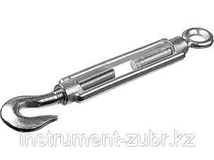 Талреп DIN 1480, крюк-кольцо, М14, 3 шт, оцинкованный, STAYER, фото 2