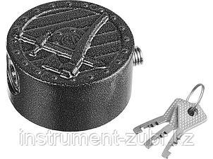 Замок навесной, дисковый механизм секрета, ВС2-11, фото 2