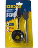 Наборы буровых коронок для врезания замков DEXX, фото 2