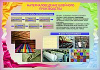 Плакаты материаловедение швейного производства, фото 1