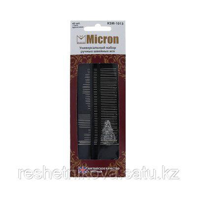 """Универсальный набор ручных швейных игл """"Micron"""""""