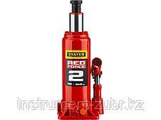 "Домкрат гидравлический бутылочный ""RED FORCE"", 2т, 181-345 мм, STAYER 43160-2, фото 3"