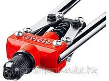 Заклепочник двуручный, MIRAX 31034, для заклёпок d=3,2 / 4,0 / 4,8 мм из алюминия и стали, литой корпус, фото 3