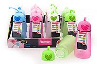 6844 FISSMAN Бутылка для воды 400 мл (пластик)