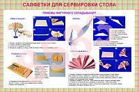 Плакаты салфетки для сервировки стола, фото 1
