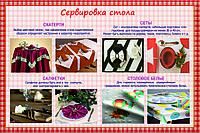 Плакаты сервировка стола, фото 1