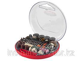 Набор мини-насадок ЗУБР для гравировальных машин, 180 предметов