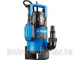 Насос Т3 погружной, ЗУБР Профессионал НПГ-Т3-550, дренаж. для грязной воды (d частиц до 35мм), 550Вт, пропуск способн 170л/мин, напор 7м, провод 10м