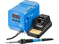 Паяльная станция низкотемпературная цифровая с ЖК дисплеем, керамический нагреватель, диапазон 50-480°C, 60Вт