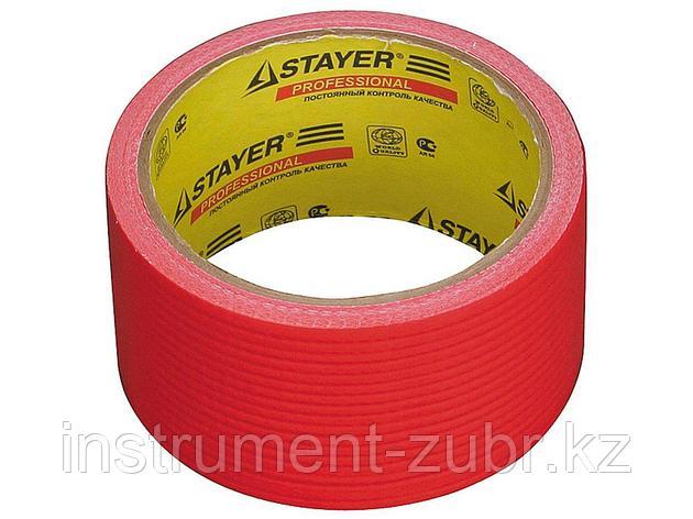 Армированная лента, STAYER Master 12084-50-10, универсальная, влагостойкая, 48мм х 10м, красная, фото 2