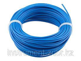 """Леска для триммеров, ЗУБР 70101-2.0-15, """"круг"""", диаметр 2мм, длина 15м"""