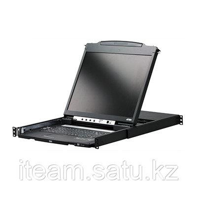 "LCD-KVM консоль ATEN CL5808N (19"" LCD / 8 портов (SPHD-17) Под заказ 2-4 недели)"