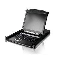 "LCD-KVM консоль ATEN CL5708M (17"" LCD / 8 портов (SPHD-15) Под заказ 2-4 недели)"