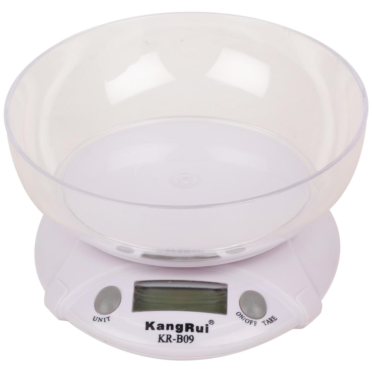 Весы кухонные с чашей KangRui KR-B05