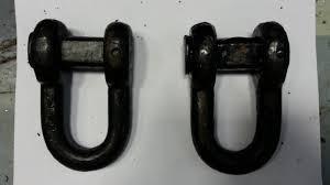 Звено концевое (для якорной цепи), диаметр -17.5 мм
