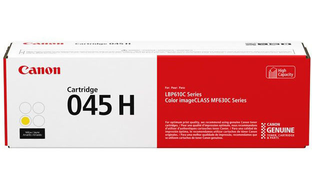 Картридж Canon 045 Y/Color Laser/yellow 1239C002AA