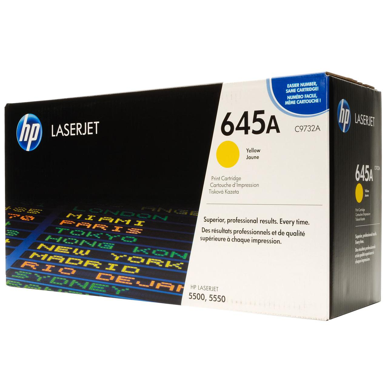Картридж HP Laser/yellow C9732A