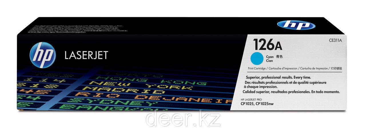 Картридж HP Laser/cyan CE311A
