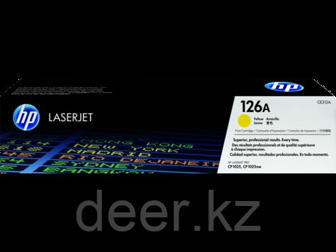 Картридж HP Laser/yellow CE312A