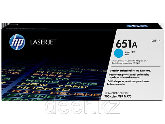 Картридж HP Laser/cyan CE341A