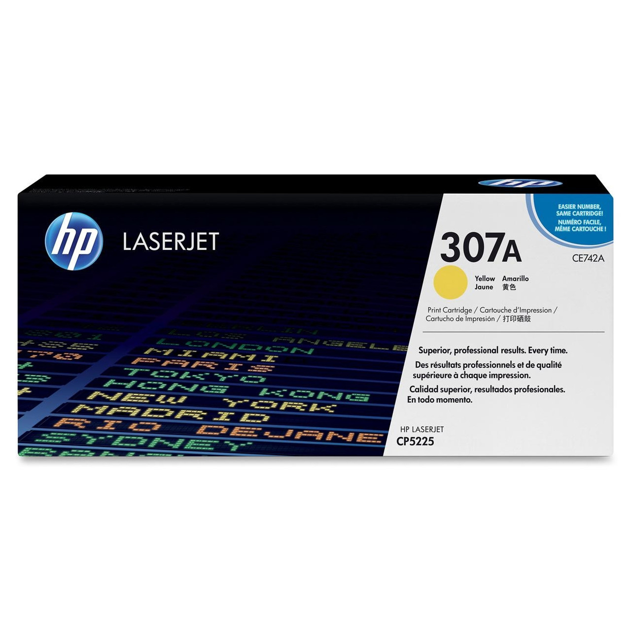 Картридж HP Laser/yellow CE742A