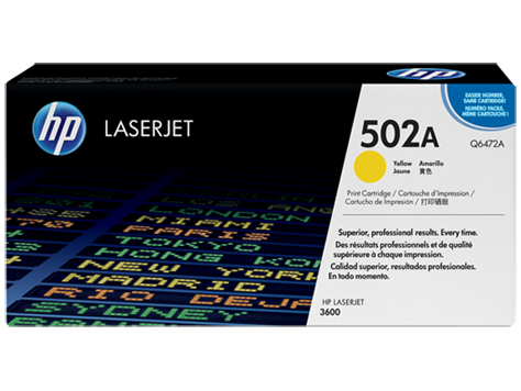 Картридж HP Laser/yellow Q6472A