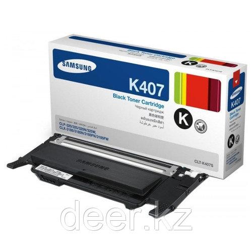 Тонер Samsung Laser/black CLT-K407S
