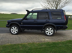 Land Rover Discovery II шноркель - T4