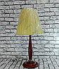 Деревянная настольная лампа