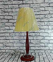 Деревянная настольная лампа, фото 1