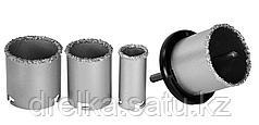 Набор KRAFTOOL: Коронки кольцевые с напылением из карбида вольфрама, 4 шт, 33-53-67-73 мм.
