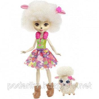 Mattel Enchantimals FCG65 Кукла Лорна Барашка, 15 см