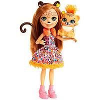 Кукла Enchantimals с питомцем - Чериш Гепарди, 15 см