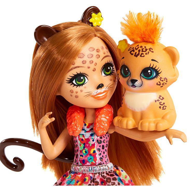 Кукла Enchantimals с питомцем - Чериш Гепарди, 15 см - фото 2
