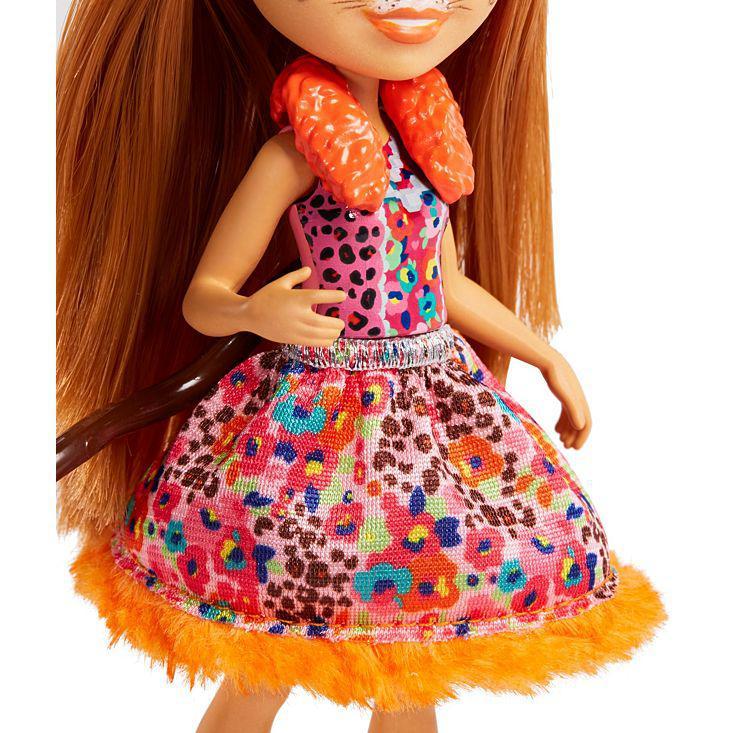 Кукла Enchantimals с питомцем - Чериш Гепарди, 15 см - фото 6