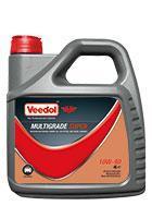 Моторное масло VEEDOL MULTIGRADE SUPER 10W-40 4L, фото 2