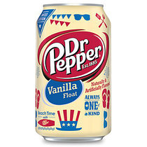 Dr.Pepper Vanilla Float 355ml США (12шт-упак)