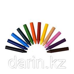 Мелки восковые 12цветов