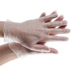 Перчатки виниловые неопудренные S (100/1000) (1 упаковка - 100шт/50пар)