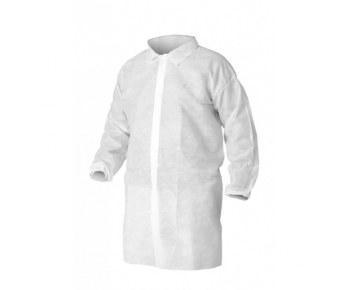 Халат процедурный белый рукава на резинке XXL (10/100) (1 упаковка - 10шт)