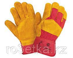 Перчатки рабочие комбинированные спилков. (зимние)