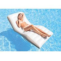"""Надувное кресло - шезлонг """"Волна"""" 193x102 см, Intex 56861"""